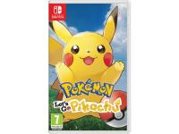 Jeu Switch NINTENDO Pokemon Let's Go Pikachu
