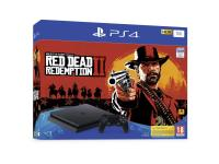 Console PS4 SONY PS4 1To Red Dead Redemption 2